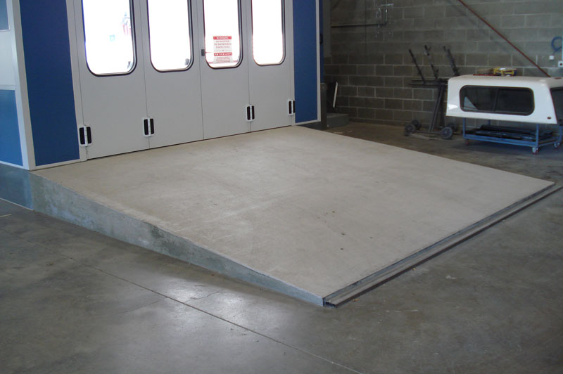 Commercial Concrete Ramp In Tigard