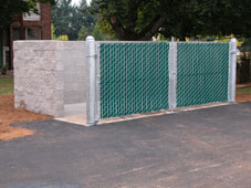 Guardian Management Trash Enclosure and Paving