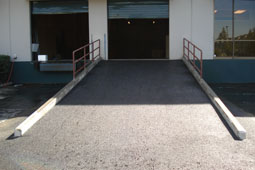Commercial Loading Ramp