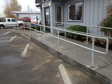 Providence Medical Molalla Commercial Concrete Sidewalk